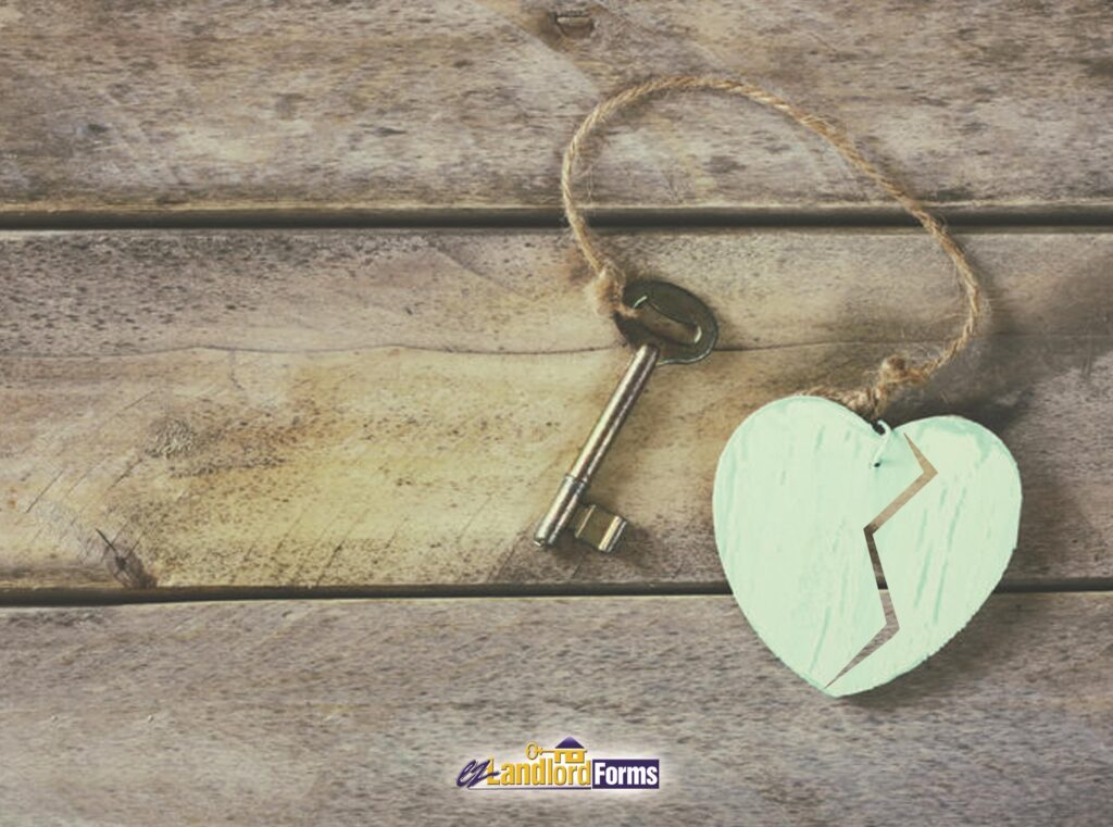 Has your tenant fallen out of love with your property